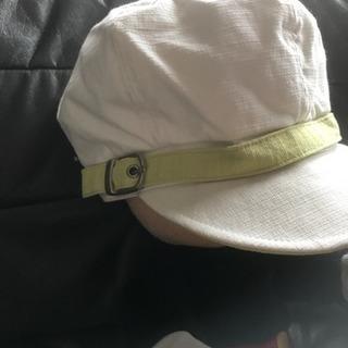 キャスケット帽