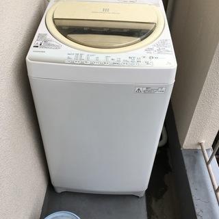 2015年製 洗濯機 TOSHIBA AW-7G2 7kg 56L