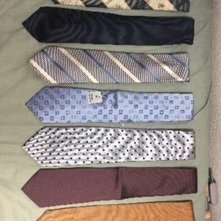 ネクタイ 計7本(うち新品未使用4本)