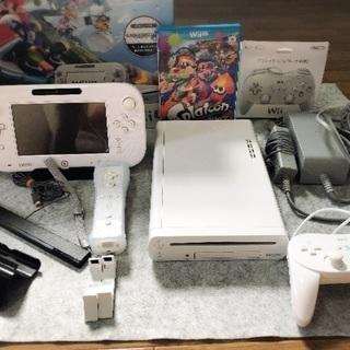 美品 WiiU マリオカート8セッ...