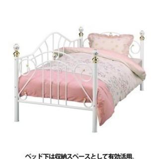 ニトリ、ベッド、マットレス付き