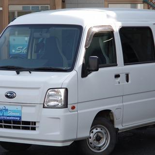 【新規オープン】サンバー バン トランスポーター 誰でもローン...
