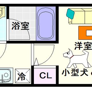 【スプランディッド難波】3号タイプ!1Kタイプ!ペットが小型犬だけ...