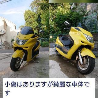 【6月限定販売】低走行!マジェスティC  250CC黄色  鍵2本...