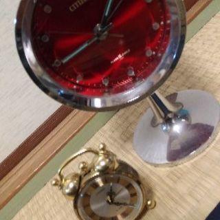 昭和の古い置き時計