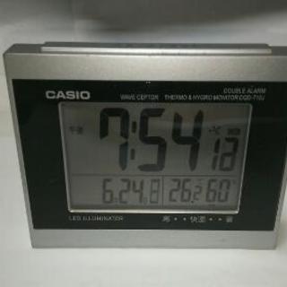 CASIOデジタル電波置時計