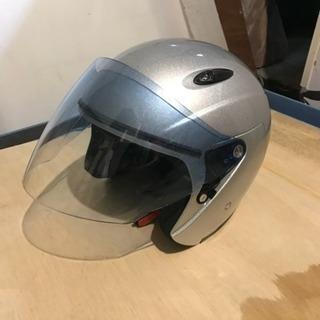 【取引中】ジェットヘルメット(シルバー)