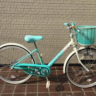 24インチ 子供用自転車(女児)