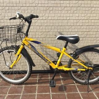 引渡終了☆20インチ 子供用自転車(男児)変速 CBA
