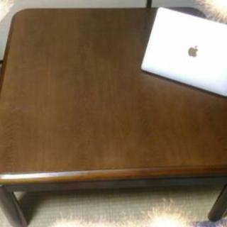 こたつテーブル ふとん+敷布