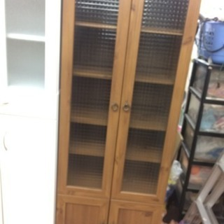 2面食器棚 カントリー調家具