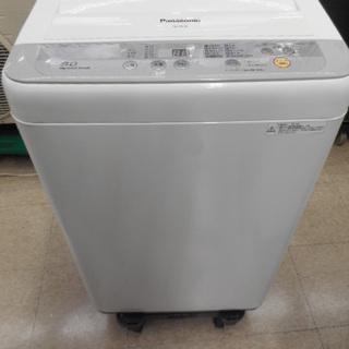 美品 Panasonic 全自動洗濯機 5kg NA-F50B9