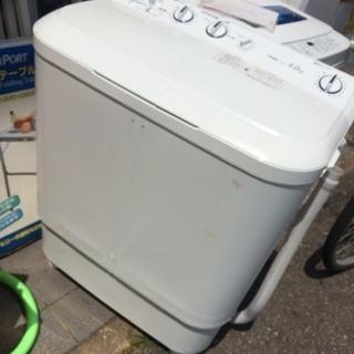 ハイアール 4.0kg 2槽式洗濯機 2016年 JW-w40E