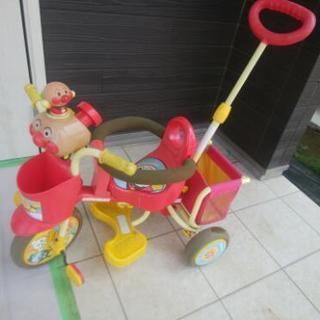 売ります アンパンマン 三輪車
