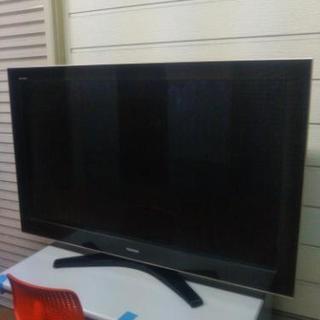 デカイです☆55型REGZA液晶テレビ!良いテレビ台もありますよ!