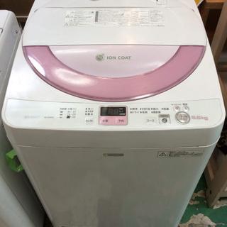 【送料無料・設置無料サービス有り】洗濯機 SHARP ES-G55...