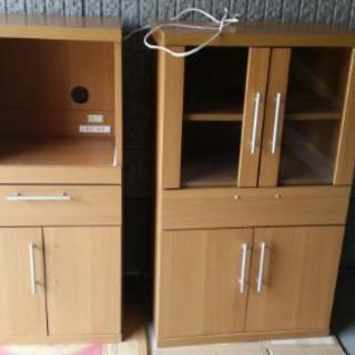 ニトリの食器棚セット