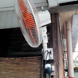 壁掛け工場扇風機