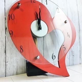 赤 レッド 壁掛け時計 LC062299
