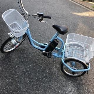 新品(試乗のみ )三輪 電動アシスト自転車