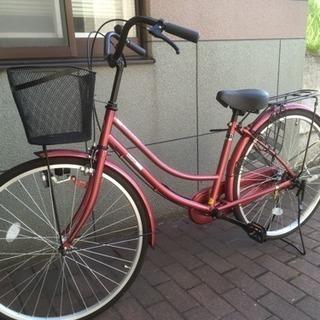 美品 自転車 ママチャリ