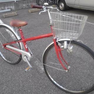 中古自転車178(防犯登録600円無料)前後タイヤ交換❗ シティサ...