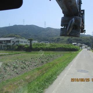 福岡、不用品、空き地、土場、ツル草刈、ミニユンボ、粉砕、格安、便利屋、