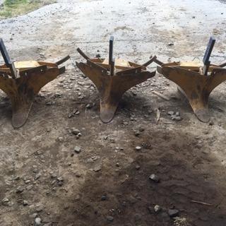ノブタ農機 カマボコ培土機 3個セット