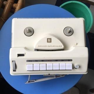 ジャンク品テープレコーダー