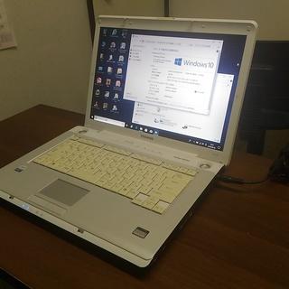 中古パソコン東芝TX-67CBB白15インチ★Windows10