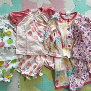 女児 パジャマ 70  80