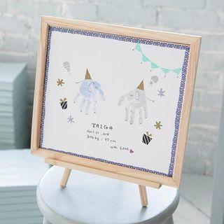 【大阪西区】英語教室で手形アートイベント