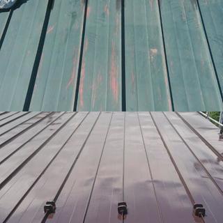 屋根塗装工事 − 北海道