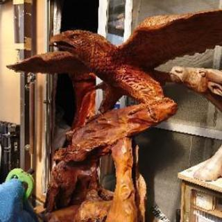 木彫り鷹 ※値下げしました!※