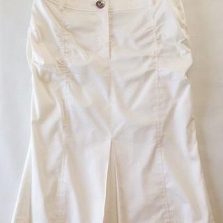 「C DE C」36号 白スカート
