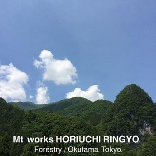 東京の大自然の中で体を使って働こう!山好き、アウトドア好き大歓迎