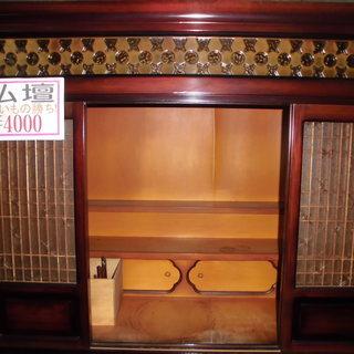 なんと仏壇が4000円からあります。 宮古島ぽぷらリサイクルみつ...