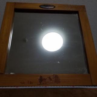 鏡(木製)