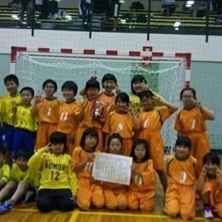 青森ハンドボールスポーツ少年団です。