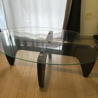 今日明日中!ガラス コーヒーテーブル ローテーブル