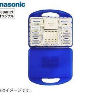 パナソニック 充電式電池 エネループ充電器セット(12本)…