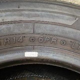 185/R14/6pr 2本
