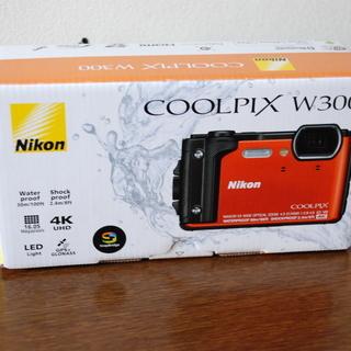 ニコン防水カメラCOOLPIX W300 ほぼ未使用・新品 画面...