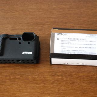 ニコン防水カメラCOOLPIX W300用シリコンジャケット C...