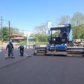 土木工事・アスファルト舗装工事の現場スタッフ