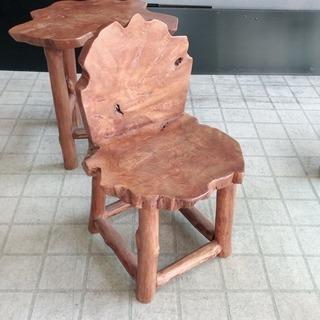 天然無垢材 椅子 アジアテイスト バリ島雑貨