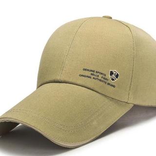 ★新品未着用!ツバ長ロングノーズCAP(帽子)