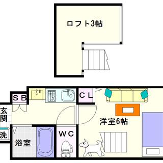【エステムコート難波ミューステージ】1Kロフトタイプ!人気の分譲タ...