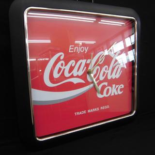 西野店 Coca-Cola コカ・コーラ 壁掛け時計 クロック ...