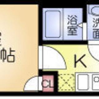 十三駅9分 家賃32,000円 共益費5,000円 26.44㎡